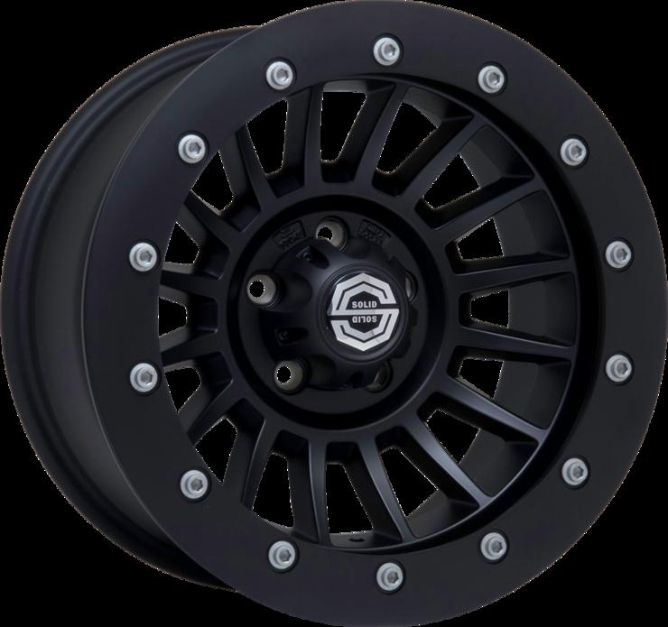 size:16x8.0 114.3/5H ±0wheel color:SOLID BLACKring color:SOLID BLACKnote:アルミストリートリングGEOMET(艶消シルバー)ボルト限定モデル