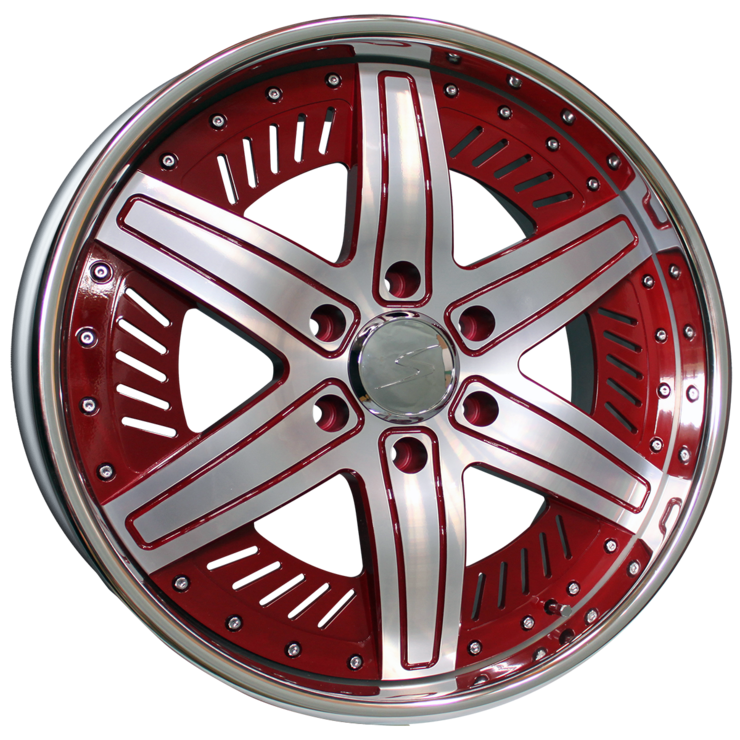 size:20x8.0 139.7/6Hdisk color:RED SPring color:POLISHnote:特注カラー
