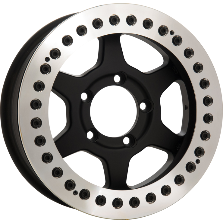 size:16x6.0 139.7/5H ±0wheel color:SOLID BLACKring color:DIA-CUT FINISHnote:レースリングFA-Coat(艶消ブラック)ボルト