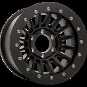 size:16x8.0 139.7/6H -25wheel color:SOLID BLACKring color:SOLID BLACKnote:ストリートリングGEOMET(艶消シルバー)ボルト
