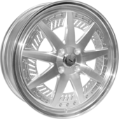 size:17x5.5 100/4Hwheel color:POLISHrim color:POLISHnote:Center Cap E1