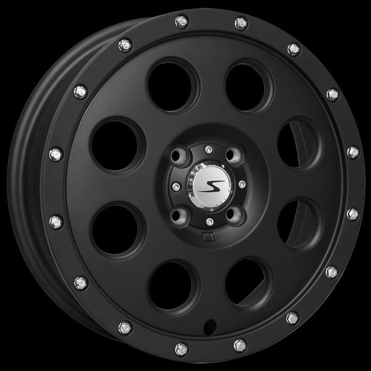 size:15x4.5 100/4H +43wheel color:SOLID BLACKnote:Center Cap E1