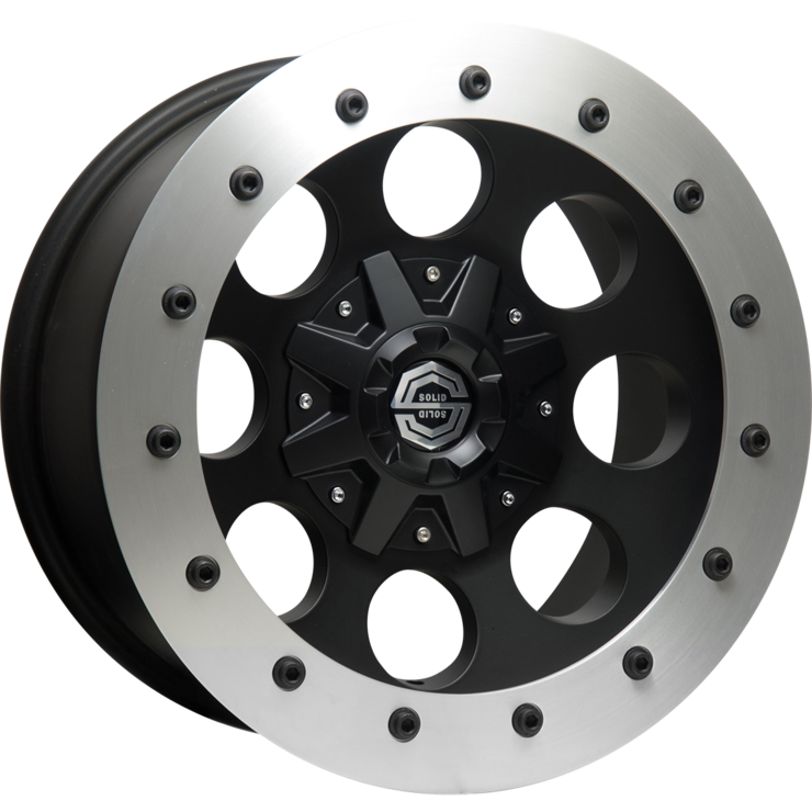size:17x8.0 139.7/6H -25wheel color:SOLID BLACKring color:CUT FINISHnote:ストリートリングnote:Center Cap C1