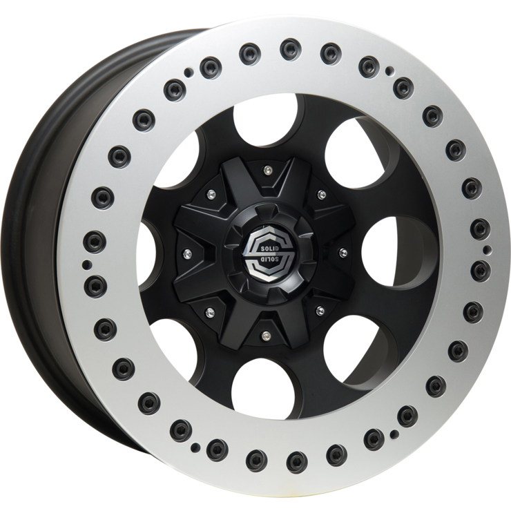 size:17x9.0 139.7/6H -38wheel color:SOLID BLACKring color:SOLID SILVERnote:レースリングnote:Center Cap C1