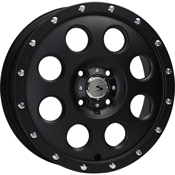 size:15x4.5 100/4H +43wheel color:SOLID BLACKnote:Center Cap E1