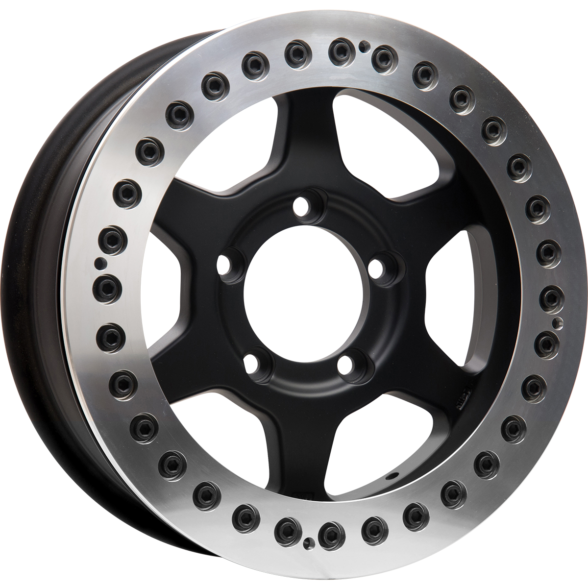 <br>size:16x6.0 139.7/5H ±0<br>wheel color:SOLID BLACK<br>ring color:DIA-CUT FINISH<br>note:レースリング<br>FA-Coat(艶消ブラック)ボルト<br>