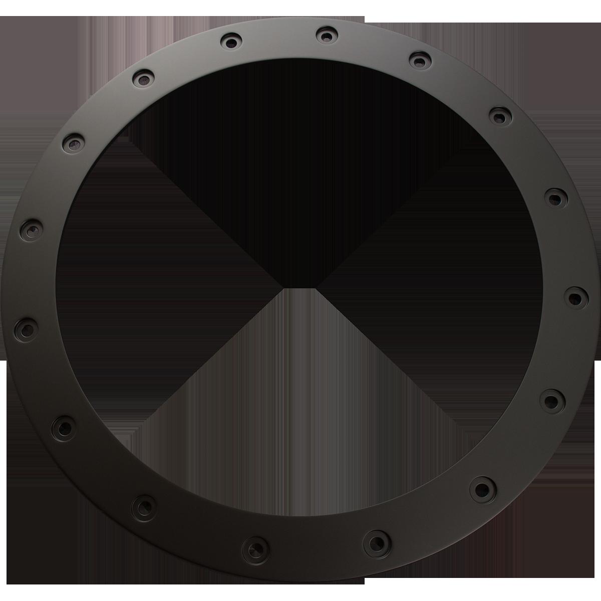 アルミリング<br>(16インチ用)<br>color:SOLID BLACK